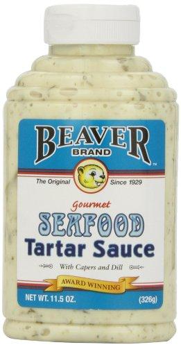 Beaver Seafood Tartar Sauce, 11.5 Ounce Squeeze Bottle