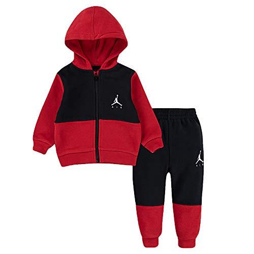 Jordan Chándal de bebé Jumpman Air Roja, cód. 658507-023 rojo/negro 12 Meses