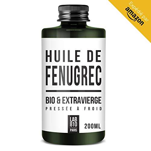 ACEITE BIO DE FENOGRECO 100% Puro y Natural, Prensado en Frío y Extra Virgen. Ayuda a aumentar el busto (200ml)