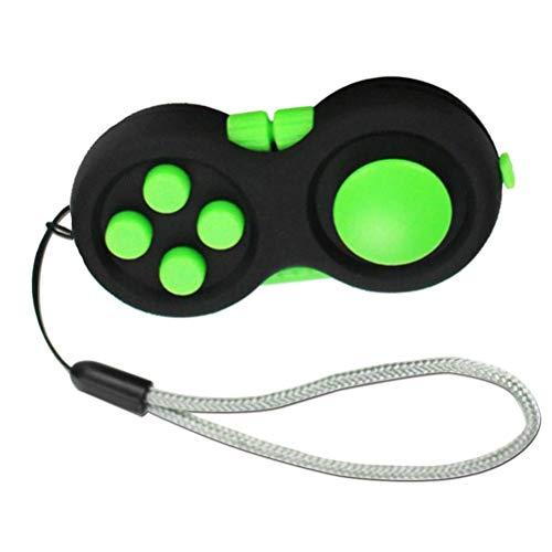 Juguete sensorial push pop bubble fidget, almohadilla Fidget de agua dulce con 8 funciones Fidget Toy Fidget, juguetes sensoriales, controlador, reductor de estrés, mango de mano, juguetes Fidget, p