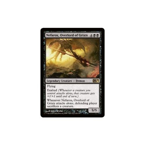 Magic: the Gathering - Nefarox, Overlord of Grixis (103) - Magic 2013