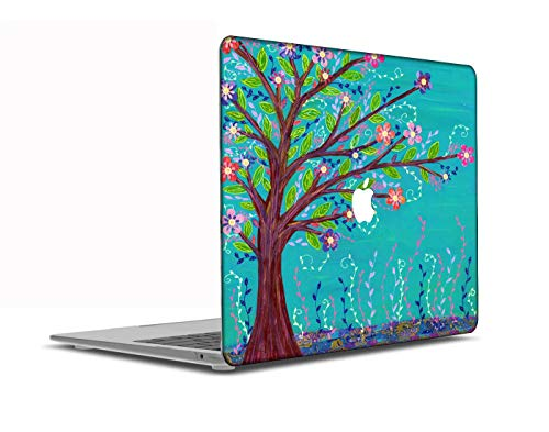 Congsansuo Cut Out Design Plastic Pattern Ultra Slim Light Hard Shell Case Cover Compatible MacBook Pro 13 inch Retina Display No CD-ROM Model:A1425/A1502,Landscape A 108
