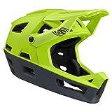 IXS Trigger FF Casco Integral VTT/E-Bike/BMX Adultos Unisex, Lima Green, X-Small