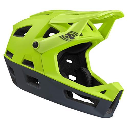 IXS Trigger FF Integralhelm MTB E-Bike BMX Erwachsene Unisex Lime Green, X-Small