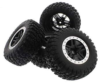 Traxxas 1/10 Ford Raptor/Slash 2WD BF GOODRICH TIRES 12mm Black /Gray Wheels