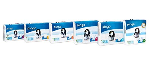 Couches PINGO Taille 5 12/25kg (144 couches)