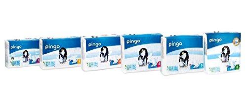 Pingo - Couches PINGO T5 écologiques et biodégradables 15/25kg (144 couches)