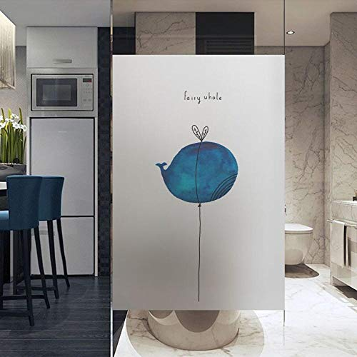 KUNHAN raamsticker Glazen raamfolie electro mat sticker home foil sticker waterdicht voor badkamer keuken deur spiegel dier