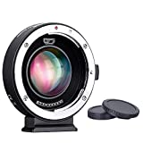 Commlite EF Lens to M4/3 Camera Mount Adapter with Electronic Iris, AF and 0.71x Speed Booster