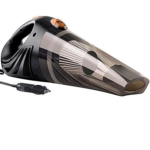 showyow Aspirador, aspirador de coche desmontable multifuncional aspiradora de mano herramienta de limpieza de coche adecuado para limpiar asientos de coche, coche, sofá