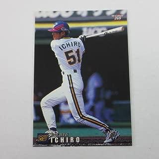 1999カルビープロ野球チップス【265イチロー/オリックス】レギュラーカード