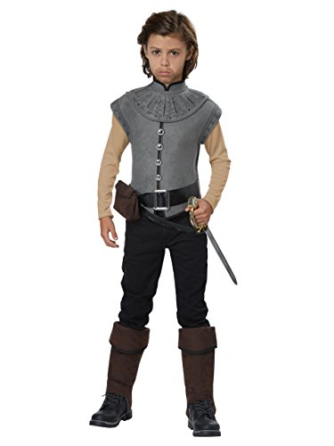 California Costumes Boys New World Explorer/Captain John Smith Child Costume, Gray, Medium