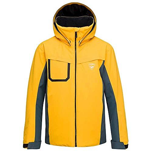 Rossignol Boy Ski Jacket Skijacke, Kinder XL dunkel zitronengelb