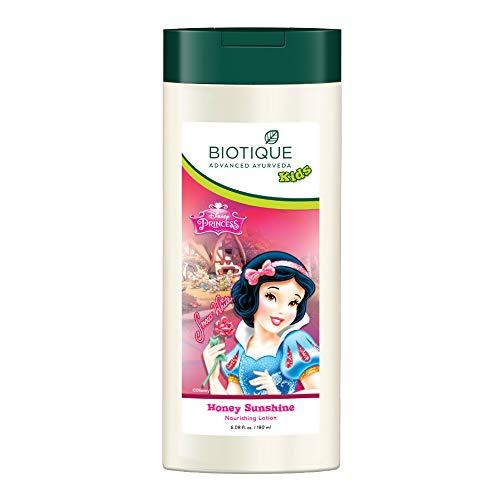 Biotique Bio Honey Sunshine Nourishing Lotion for Disney Kids for Normal Skin, 180 ml