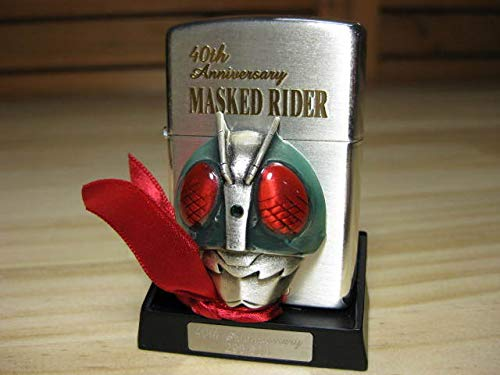 Zippo ジッポー 40th Anniversary MASKED RIDER 仮面ライダー 1号 40th記念
