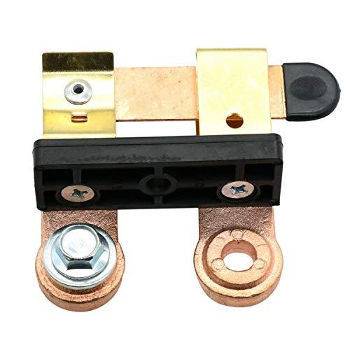 GGBEST Interruptor de Hoja de LatóN de 12/24 V Interruptor Desconectado de la BateríA Interruptor Modificado para AutomóVil de Servicio Pesado Interruptor Antifugas
