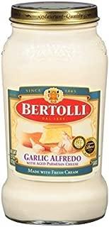 Bertolli Garlic Alfredo Sauce, 15 Oz, (Pack of 3)
