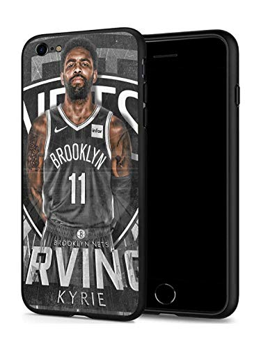 GONA iPhone 6 iPhone 6s Case for Basketball Fans, Soft Silicone Protective Thin Case Compatible with iPhone 6/6s (ONLY) (Brooklyn Kyrie)
