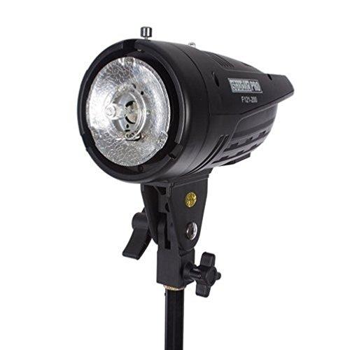 Fovitec StudioPRO Professional Photography Studio 200W/s Monolight Strobe Flash Lamp Head with Bowens Style Mount