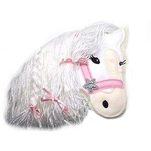 Applikation Pony Pferd gestickt Aufnäher Pferde Einhorn Fabelwesen Kinder Dekoration Schultüte Einschulung freie…