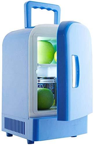 DAGCOT Mini Frigo 4L beve la Birra Portatile Piccolo Frigorifero for Camera da Letto, Caravan, Ufficio con Raffreddamento e Riscaldamento Funzione |AC/DC Portatile, Auto (Color : Car And Home)