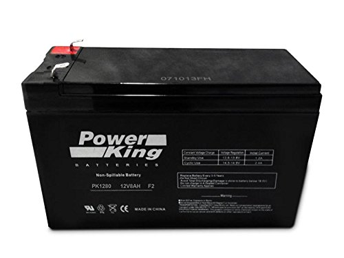 This Battery is Compatible with WKA12-8F 12V 8Ah Battery F2 Terminals (.250) 12V Werker Replacement SLA Sealed Lead Acid Battery Beiter DC Power