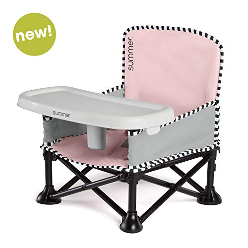 Big Save! Summer Pop 'n Sit SE Booster Chair (Sweetlife Edition), Bubble Gum