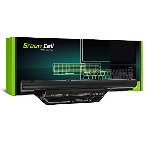 Green Cell® Standard Serie FPCBP179 Batería para Fujitsu-Siemens LifeBook S6410 S6510 S7210 Ordenador (6 Celdas 4400mAh 11.1V Negro)