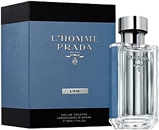 Pradà L'Homme L'eau Eau De Toilette Spray For Men 1.7 OZ.50 ml
