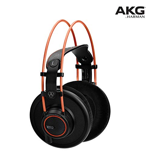 AKG Pro Audio K712 PRO Over-Ear Open Reference Studio...