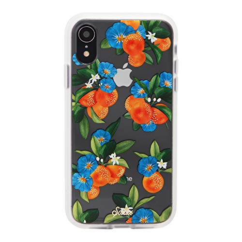 Sonix Tangerine Dream Case for iPhone XR [Military Drop Test Certified] Women's Protective Orange Garden Clear Case for Apple iPhone XR