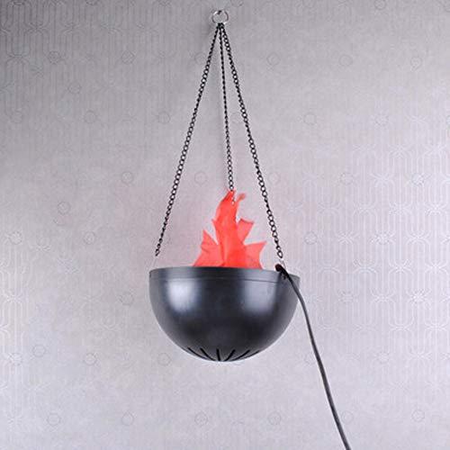 Simulatie vlam lamp LED Brazier Light Natuur Brazier Lamp Vuur lichteffect Hangen Decoratieve Geschikt voor kroonluchter Kerken Slot Tuin Bruiloft Decoraties