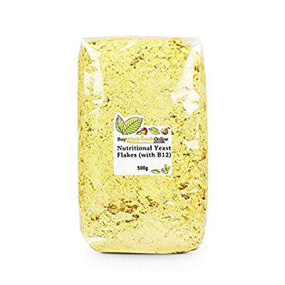 Nutritional Yeast Flakes (with B12) 500g (Buy Whole Foods Online Ltd)