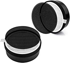 LV-H132 Replacement Filter Compatible with LEVOIT LV-H132 Air Purifier Replace LV-H132-RF, H13 True HEPA and Activated Carbon Filters Set (2 Pack)