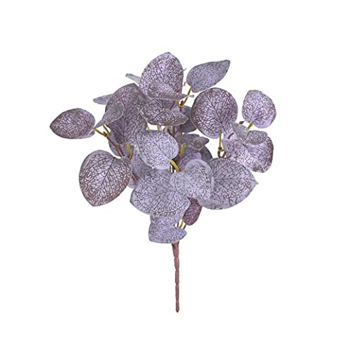 Artificial Plant Branch Simulation Eucalyptus Leaf Greenery Decorative Leaves for Wall Matching Wedding Road Guide Props