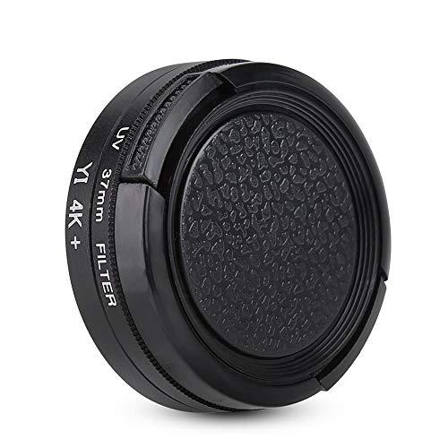 Oumij Obiettivo del Filtro della Fotocamera Filtro per Lenti Protettive UV 37mm per YI II 4K Action Sports Camera