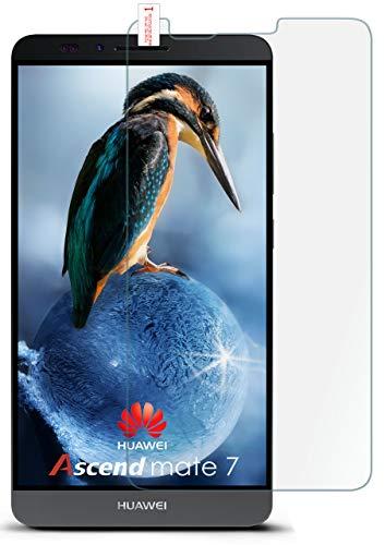 MoEx® Matte Panzerglasfolie aus 9H Echtglas passend für das Huawei Mate 7 | Kratzfest, Entspiegelnd + Reduziert Fingerabdrücke