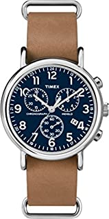 Timex Mixte Analogique Quartz Montre avec Bracelet en Cuir TW2P62300 (B00VRK4XB4)   Amazon price tracker / tracking, Amazon price history charts, Amazon price watches, Amazon price drop alerts