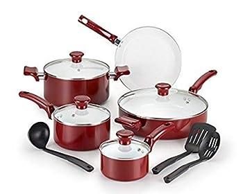 T-fal C991SE Ceramic Chef Cookware Set