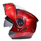 Casco de moto abatible Modular con doble casco de vidrio Sunny Visor Capacetes Para Moto Racing Helmet Jet