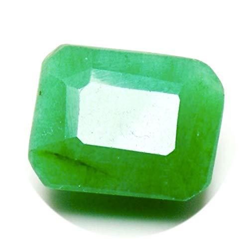 Jewelryonclick Original Indian Smaragd Stein 3 Karat Lose Edelstein Octagon Für Schmuck Am Großhandel