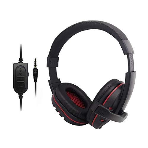 Marxways Gaming-Headset 3,5-mm-Over-Ear-Kopfhörermikrofon für Nintendo-Switch Für Playstation PS4, Xbox One, Nintendo-Switch, PC, PS3, Mac, Laptop
