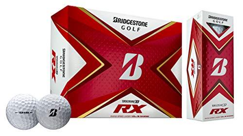 Bridgestone 2020 Tour B RX Golfbälle, 1 Dutzend, Weiß