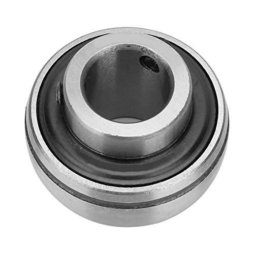 Soporte de eje, cojinete de inserción de orificio, componente mecánico de 2 piezas para herramienta de maquinaria industrial(UC205-15)