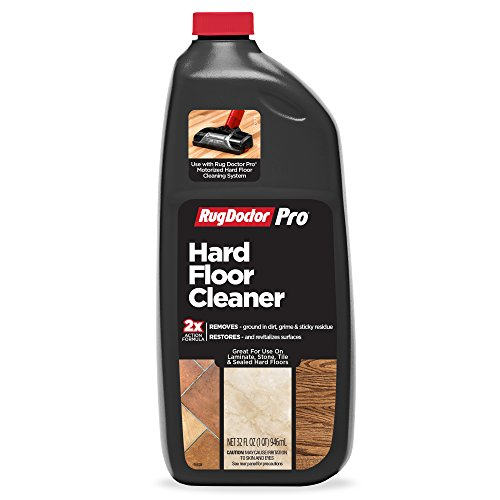 Rug Doctor Pro Hard Floor Cleaner, 32 oz.; Double Action Formula Removes Grime and Residue to Restore Stone, Laminate, Tile and Sealed Hard Floor Surfaces; Use With Pro Deep Hard Floor Cleaning System