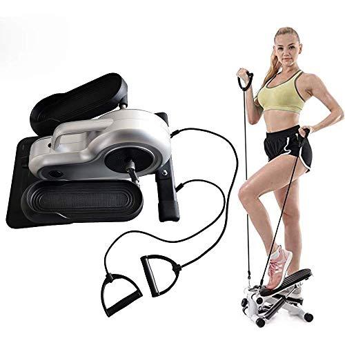 DX Steppers voor oefening, Stepper voor thuis, met LCD Digital Display Functie, Power Rope Walker Rustige Remsport Loopband omhoog en omlaag, Het dragen van 150 Kg Oefening Fiets voor Been Training