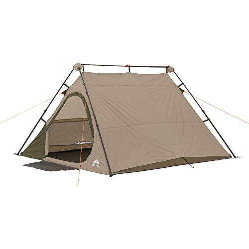 Ozark Trail 4-Person 8' x 7' Instant A-Frame Tent (Brown)