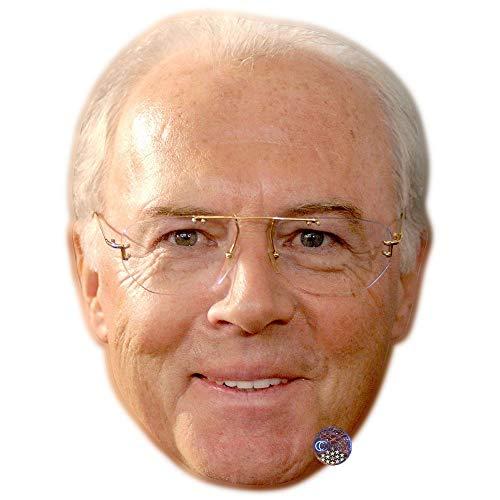 Celebrity Cutouts Franz Beckenbauer Big Head.