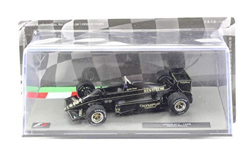 Deagostini Diecast 1:43 F1 Scale Model - Ayrton Senna F1 Lotus 97T Race Car 1985
