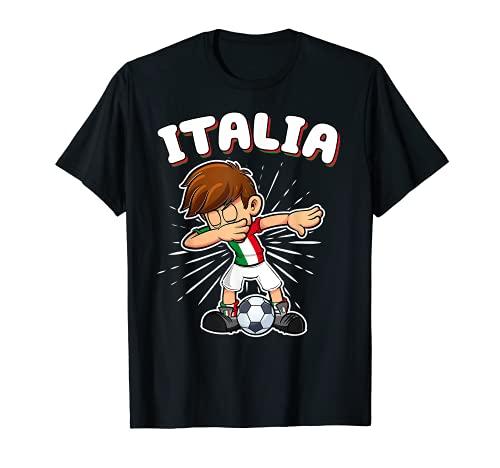 Camiseta de Fútbol Italia Niño Fanático de Italia Camiseta